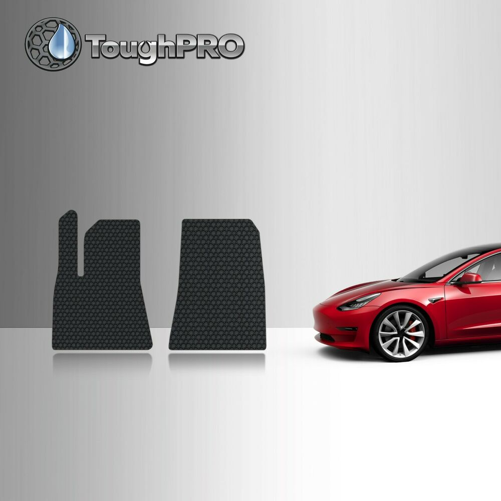 Toughpro Heavy Duty Black Rubber 2016 2017 Tesla Model S