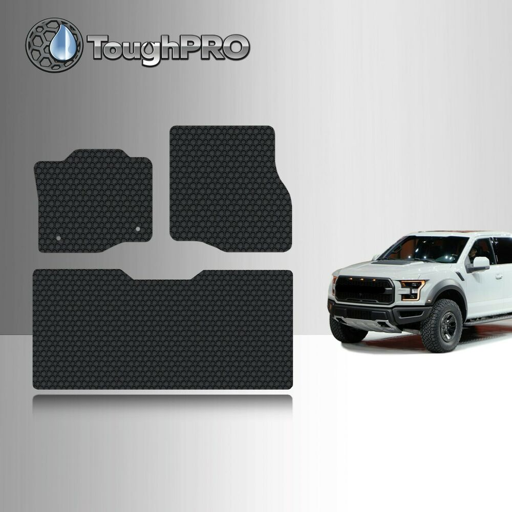 Toughpro Heavy Duty Black Rubber For 2015 2017 Ford F 150