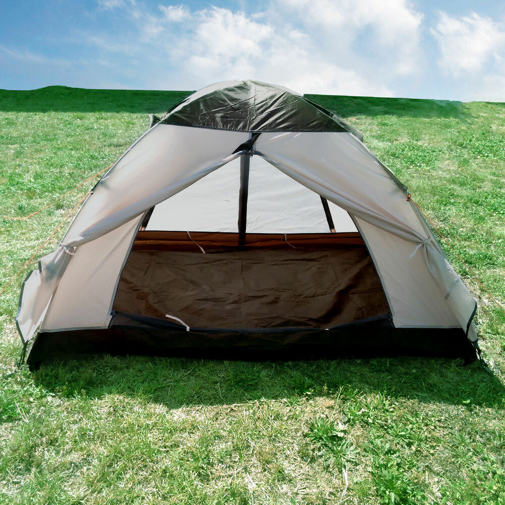Hiking Camping: CLEARANCE SALE 2 Person Double Layers Camping Hiking