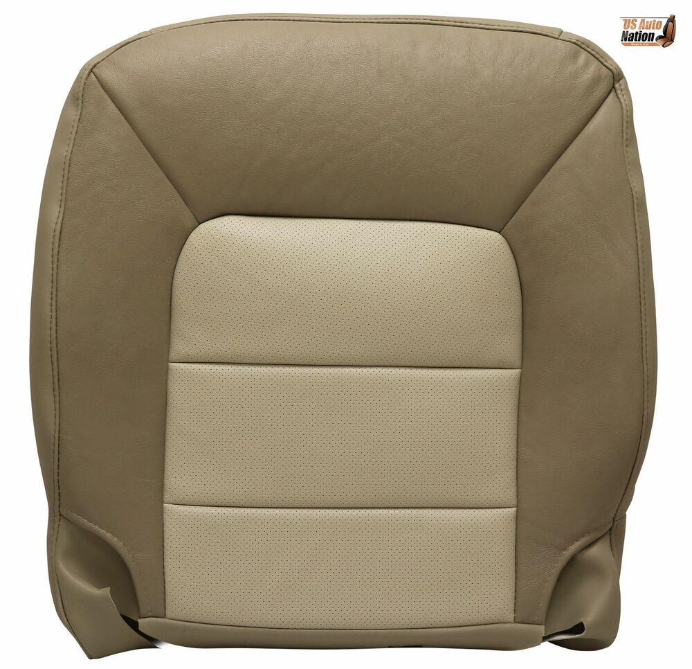 03 06 ford expedition eddie bauer driver bottom replacement leather seat cover ebay. Black Bedroom Furniture Sets. Home Design Ideas