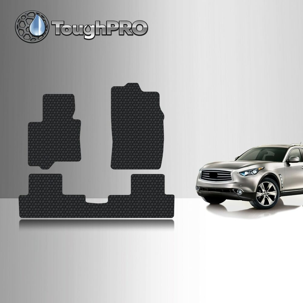 Toughpro Heavy Duty Black Rubber For 2009 2012 Infiniti