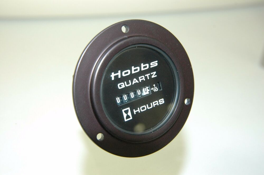 Hour Meters For Electrical Equipment : Aviation hobbs quartz hour meter totalizing time