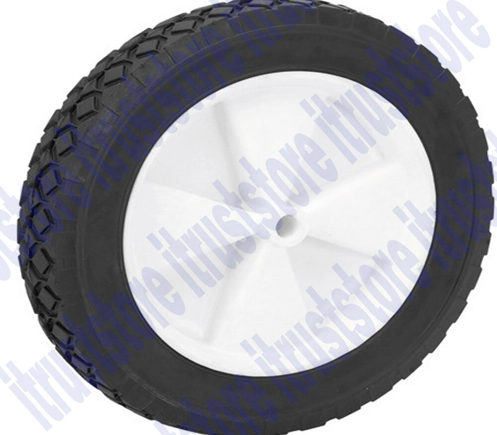 10 Quot Inch Solid Hard Rubber Flat Free Replacement Tire