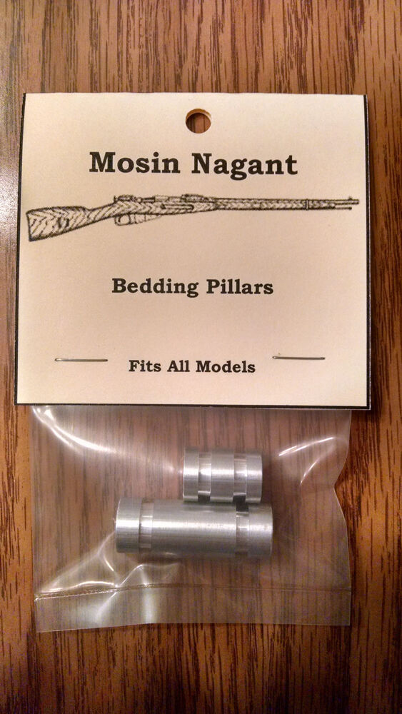 Mosin Nagant Stock Bedding Pillars Ebay
