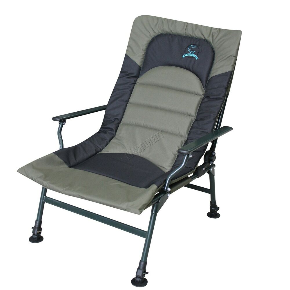 Camping Fishing Chair Xl Carp Green Fishing Equipment