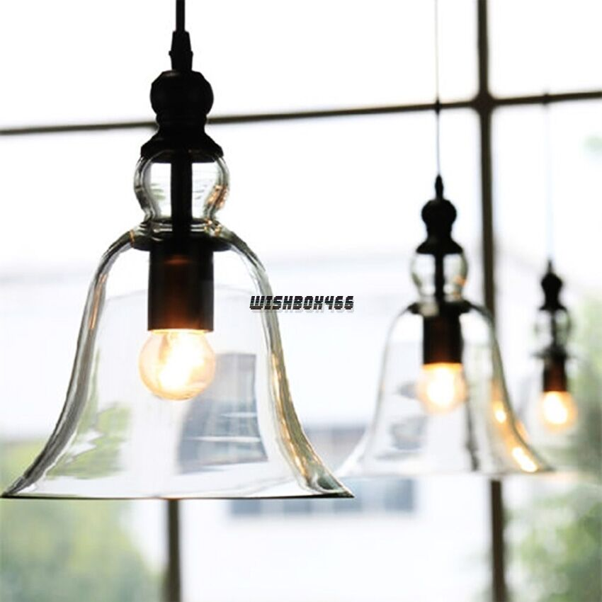 Home Lighting Vintage Glass Ceiling Light Chandelier