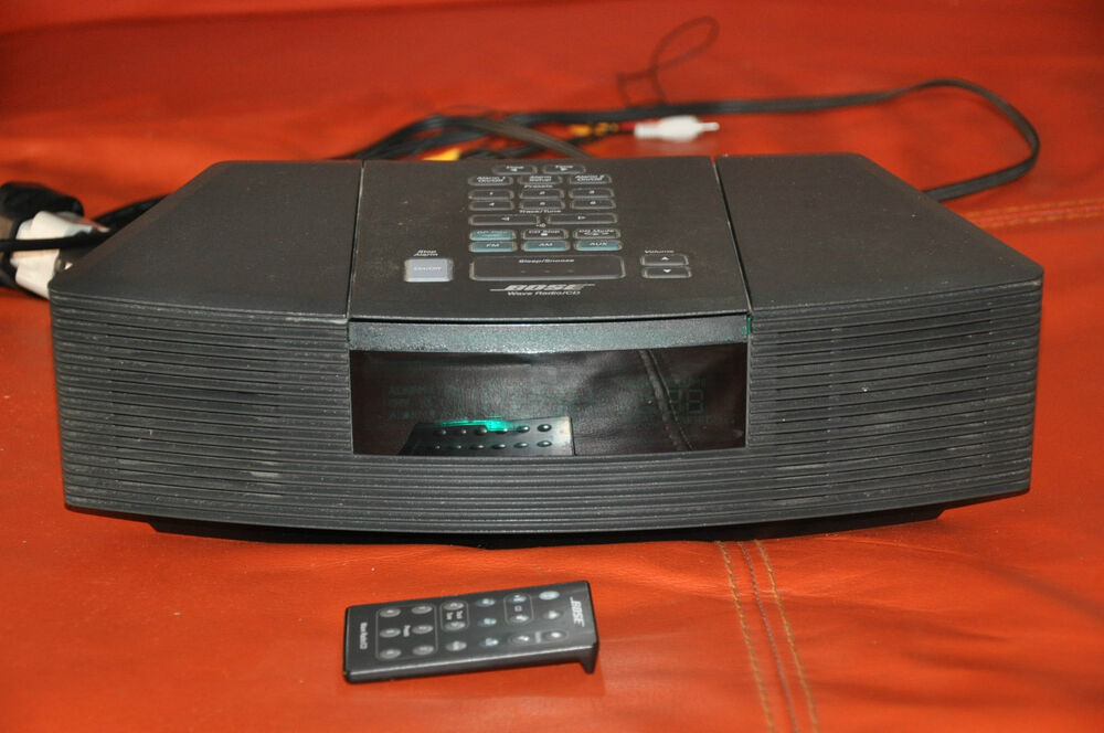 bose wave radio cd model awrc3g perfect with remote. Black Bedroom Furniture Sets. Home Design Ideas