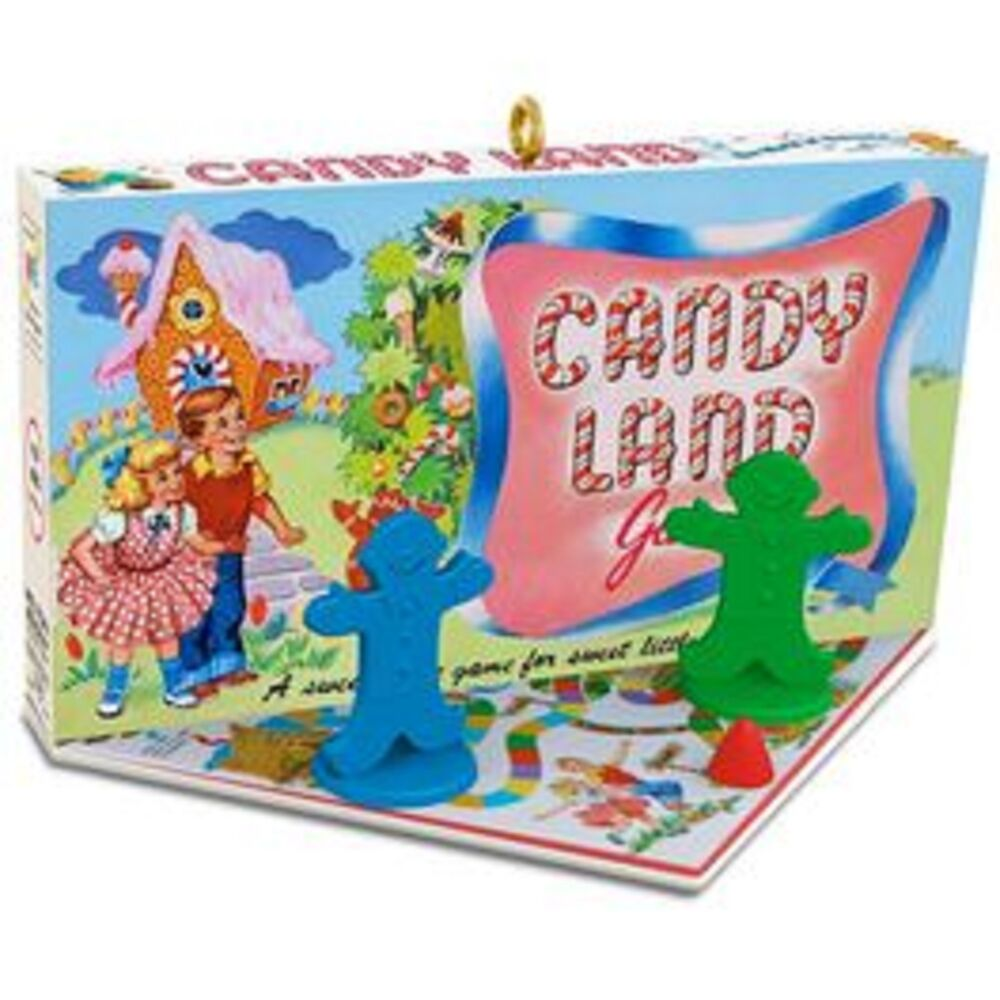 Hallmark Ornament 2016 CANDYLAND Family Game Night Series