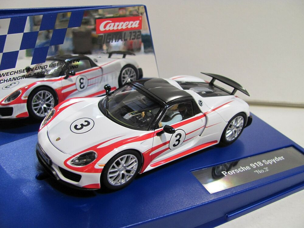 carrera digital 132 porsche 918 spyder no 3 30711. Black Bedroom Furniture Sets. Home Design Ideas