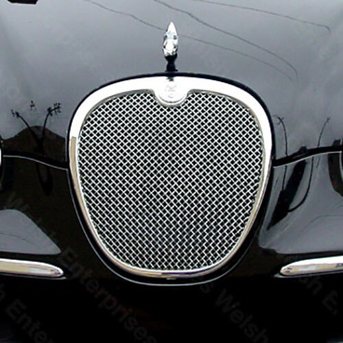 jaguar s type 2005 up mesh grille grill xr8 40243. Black Bedroom Furniture Sets. Home Design Ideas