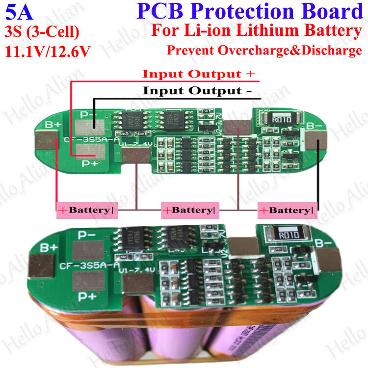 Car Battery Protection Circuit