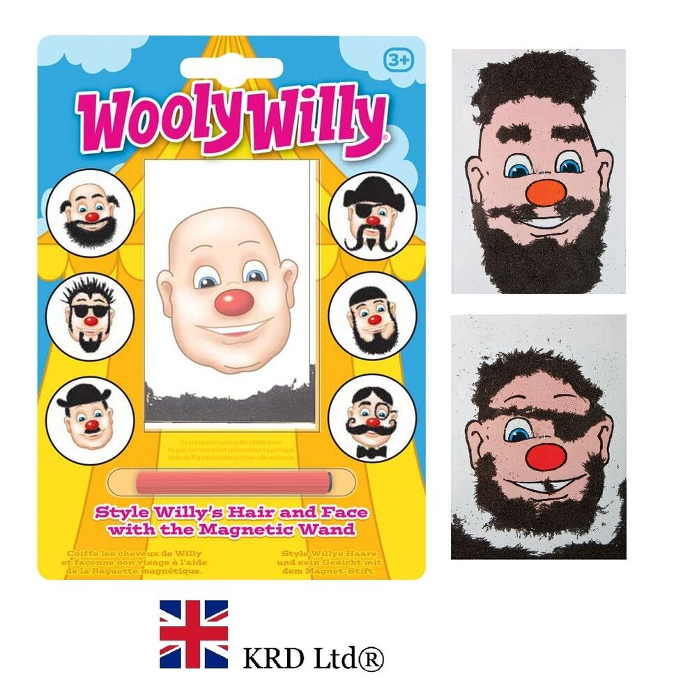 WOOLY WILLY GAME Magnetic Iron Hair Kids Birthday Gift