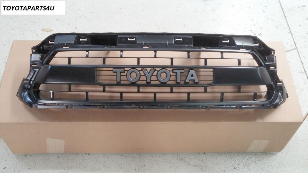 new oem toyota tacoma 2012 2015 trd pro grille matte black. Black Bedroom Furniture Sets. Home Design Ideas