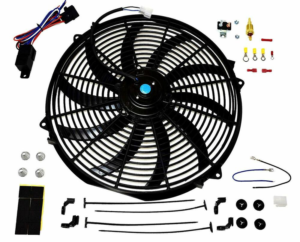 a team 16 inch electric radiator cooling fan 12v 3000cfm. Black Bedroom Furniture Sets. Home Design Ideas