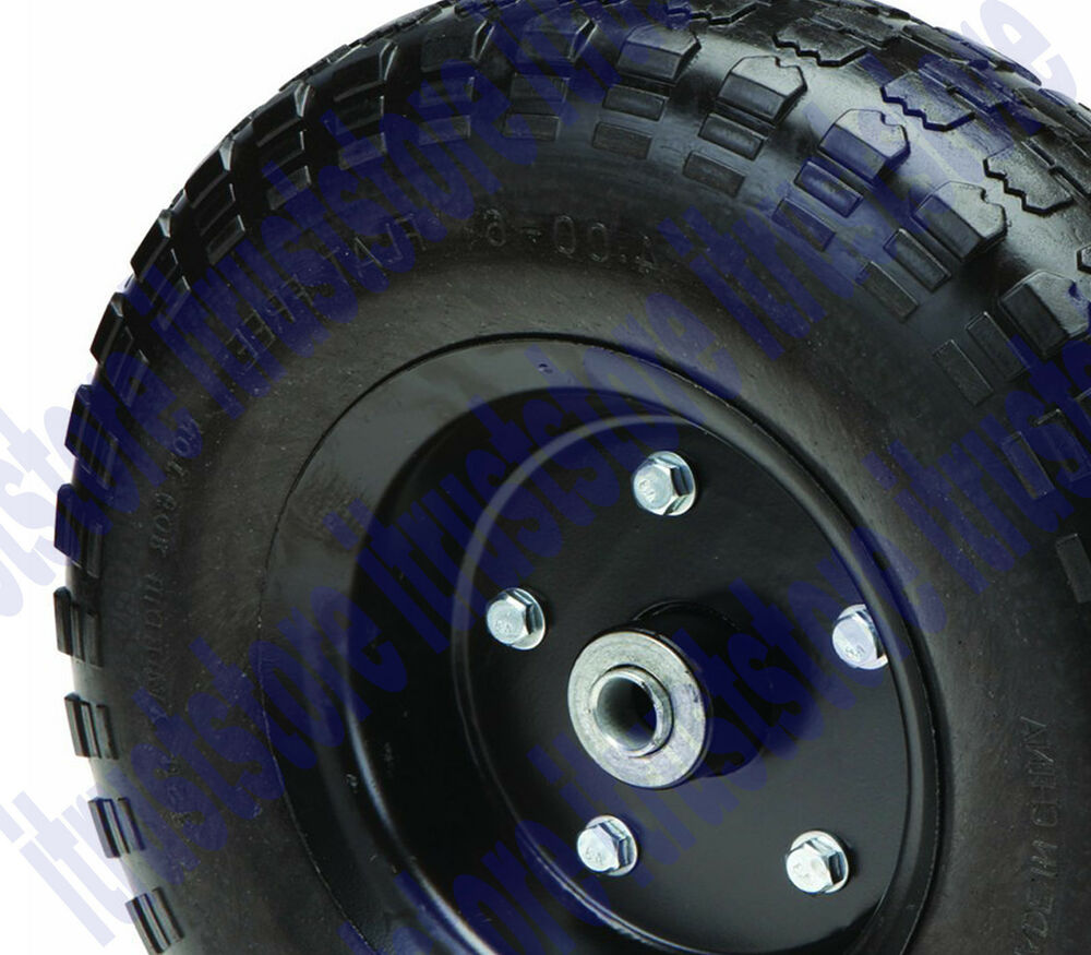 13 Quot Inch Hard Rubber Worry Flat Free Replacement Tire