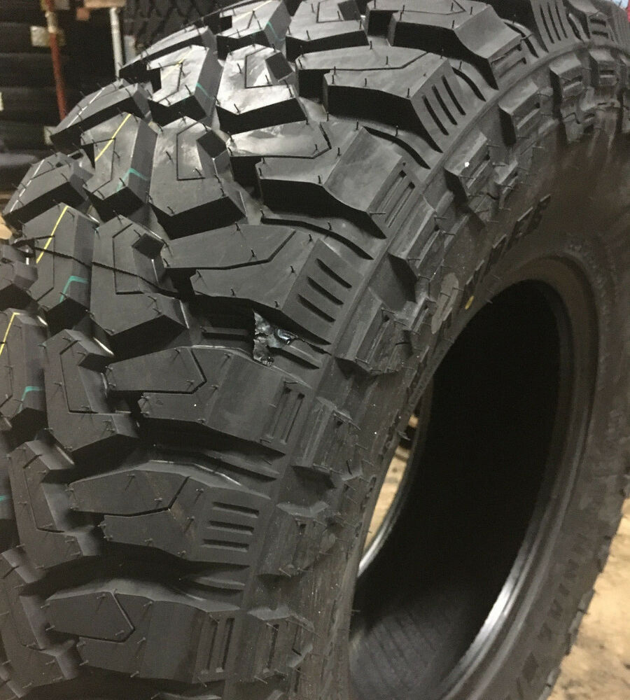 2 New 285 70r17 Centennial Dirt Commander M T Mud Tires Mt