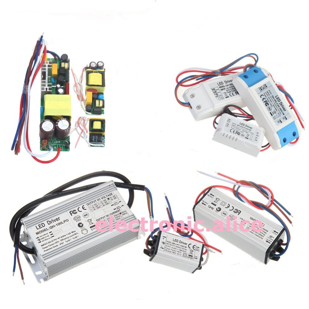 50w Led Driver Power Supply: Constant Current LED Driver 1W 3W 5W 10W 20W 30W 50W 100W