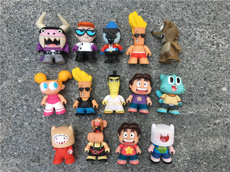 Titans The Cartoon Network Collection 3 Quot Vinyl Figures