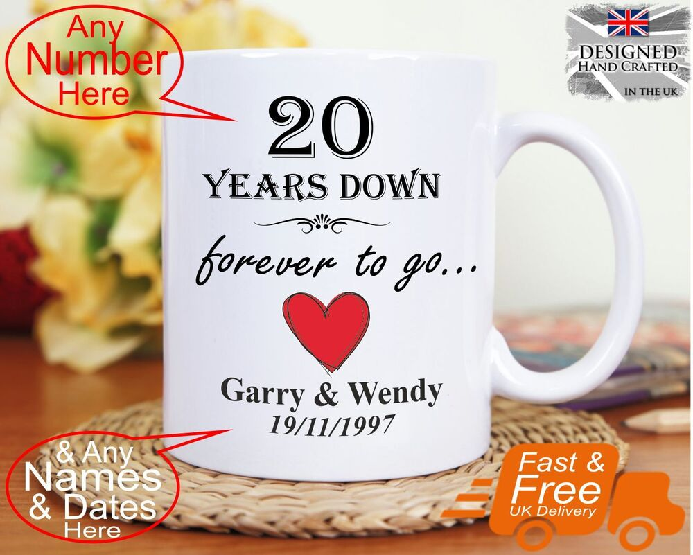 Wedding Anniversary Gifts 20 Years: 20th Wedding Anniversary Gift 20 Years Marriage, Any Dates