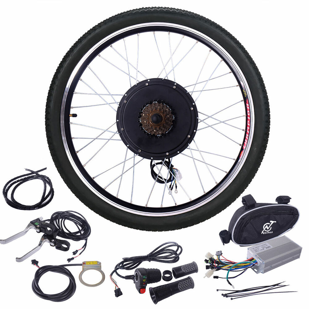 48v 1000w electric bicycle cycle e bike 26 conversion kit. Black Bedroom Furniture Sets. Home Design Ideas