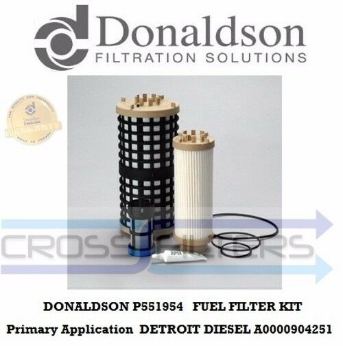 p551954 donaldson fuel filter kit replace by p550954