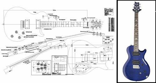 Prs� Singlecut� Electric Guitar Plan Ebayrhebay: Paul Reed Smith Wiring Diagrams At Gmaili.net
