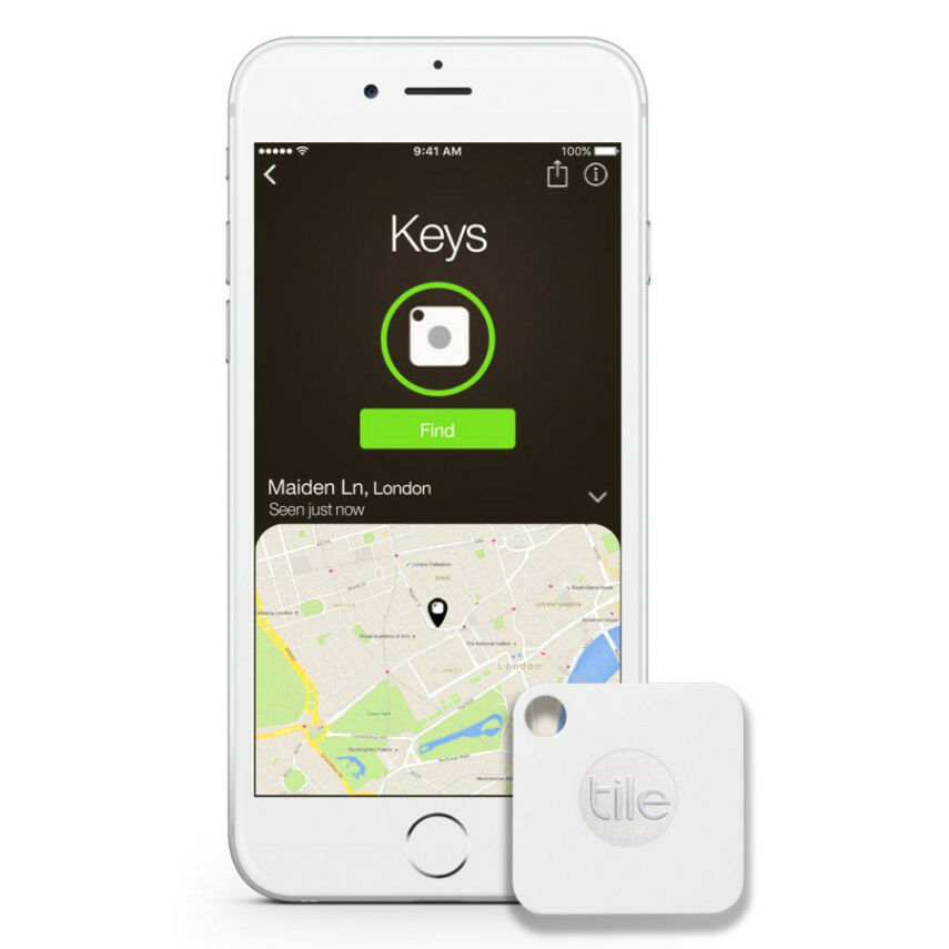 Cell Phone Gps Tracker Key Chain Bluetooth Tile Device App