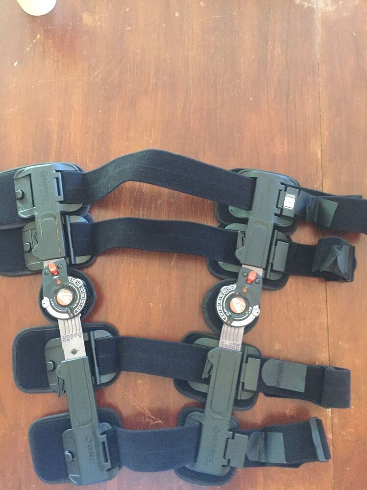 Breg T Scope Premier Post Op Knee Brace Ebay