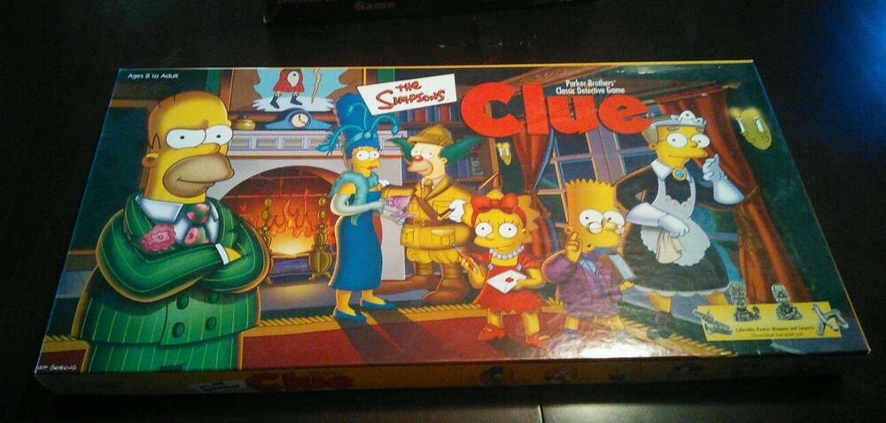 how to play simpsons clue
