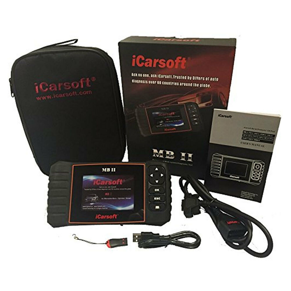 Icarsoft mb ii for mercedes benz sprinter diagnostic code for Mercedes benz diagnostic codes