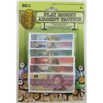 Canadian Canada Currency Play Money Paper Bills 60 Pieces