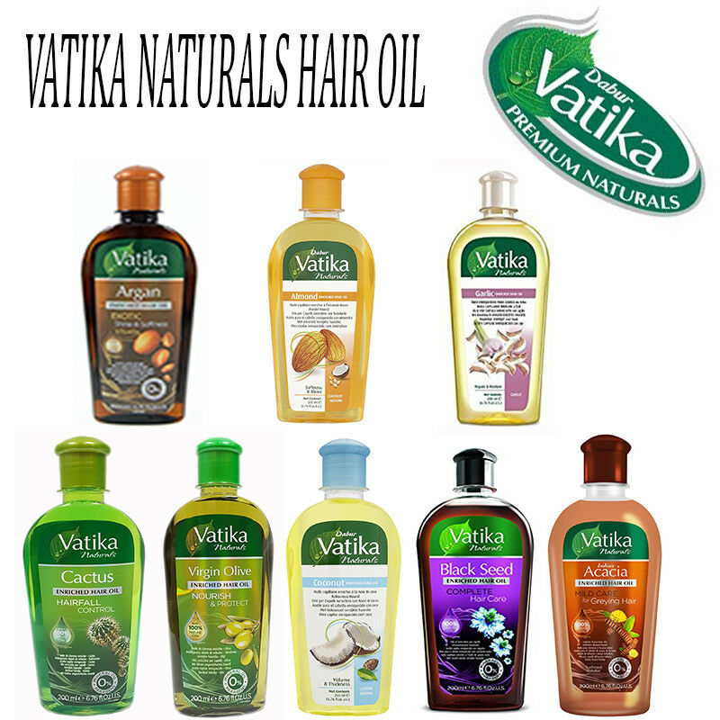 Dabur Vatika Enriched Natural Hair Oil Black Seed Coconut