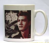 GENE SUMMERS COFFEE MUG ROCKABILLY FREE PERSONALISATION