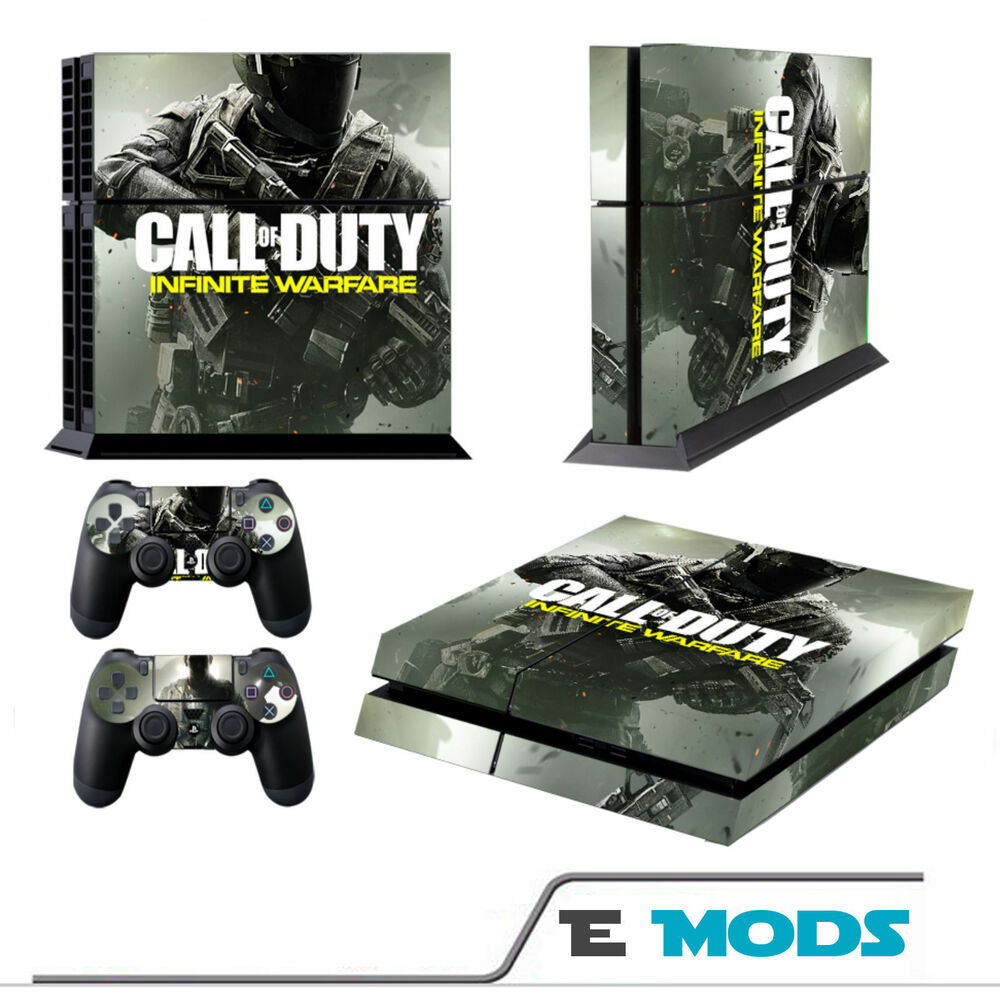 Call of Duty Infinite Warfare Playstation 4 PS4 Console Skin + 2 ...