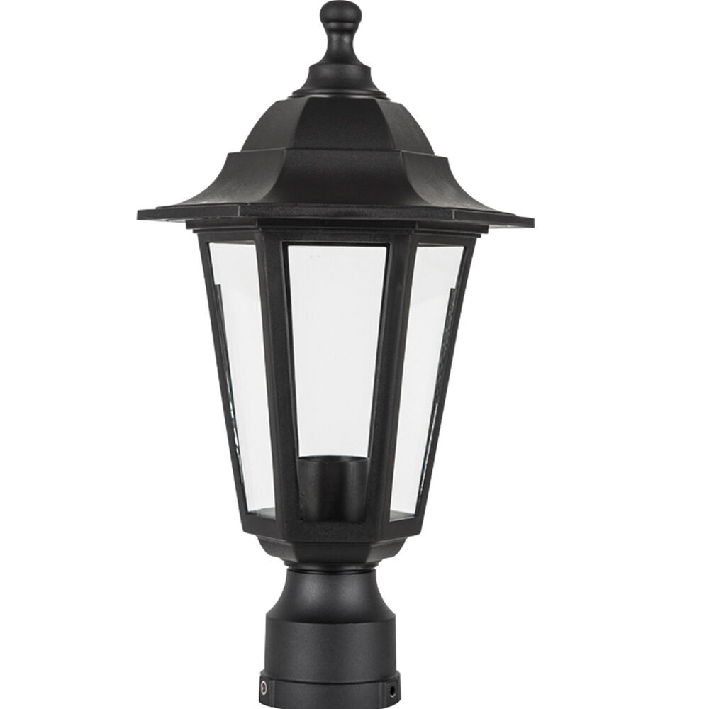 Outdoor Post Light Bulbs: Outdoor Lamp Fixture Post Outside Antique Pole Mount