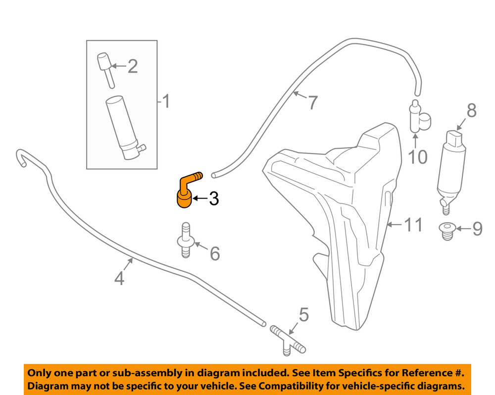 Porsche Oem 05 16 911 Washer Headlight Head Light Connector H4 Wiring Diagram Get Free Image About 99762820500 Ebay