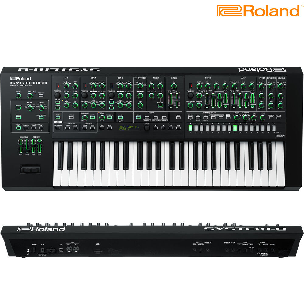 Roland System 8 Aira 49 Key Plug Out Synthesizer Brand New