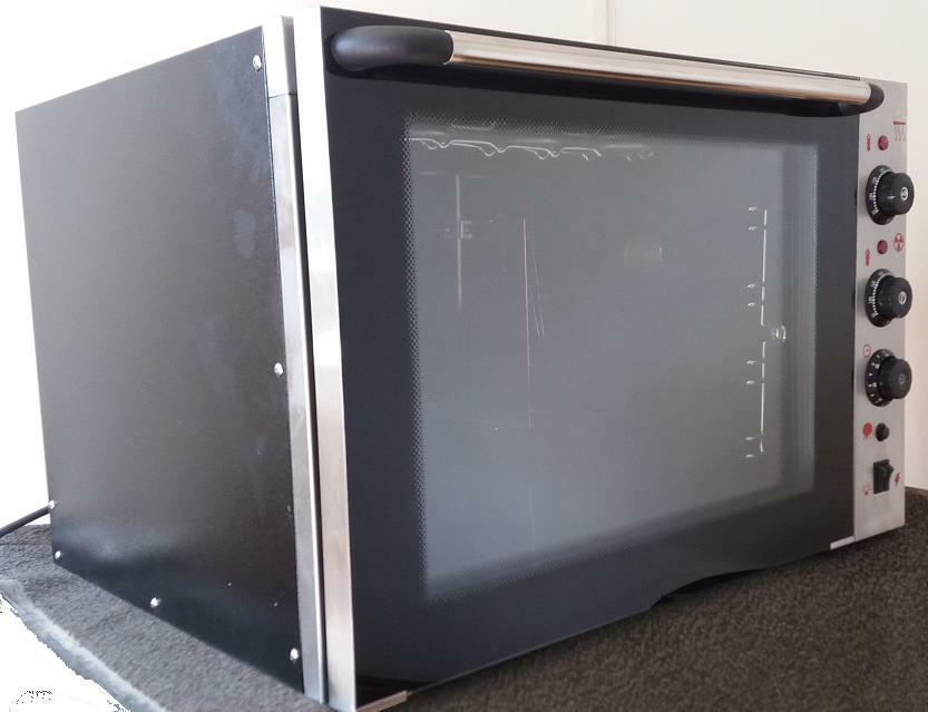 Infernus Commercial Electric Convection Oven 4 Trays 350c