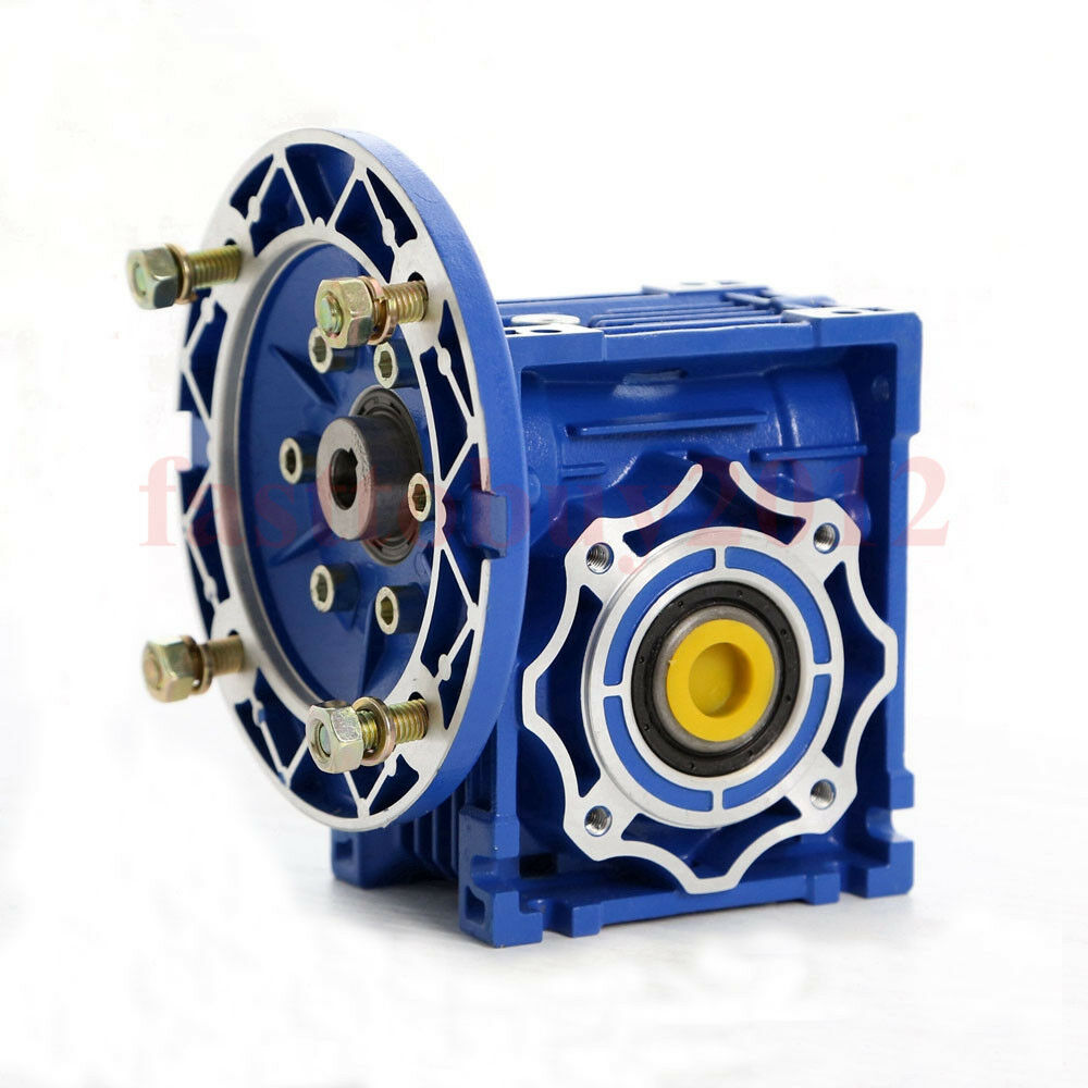 Ratio 10 1 nmrv030 worm gear reducer 56b14 speed reducer for Electric motor reduction gearbox