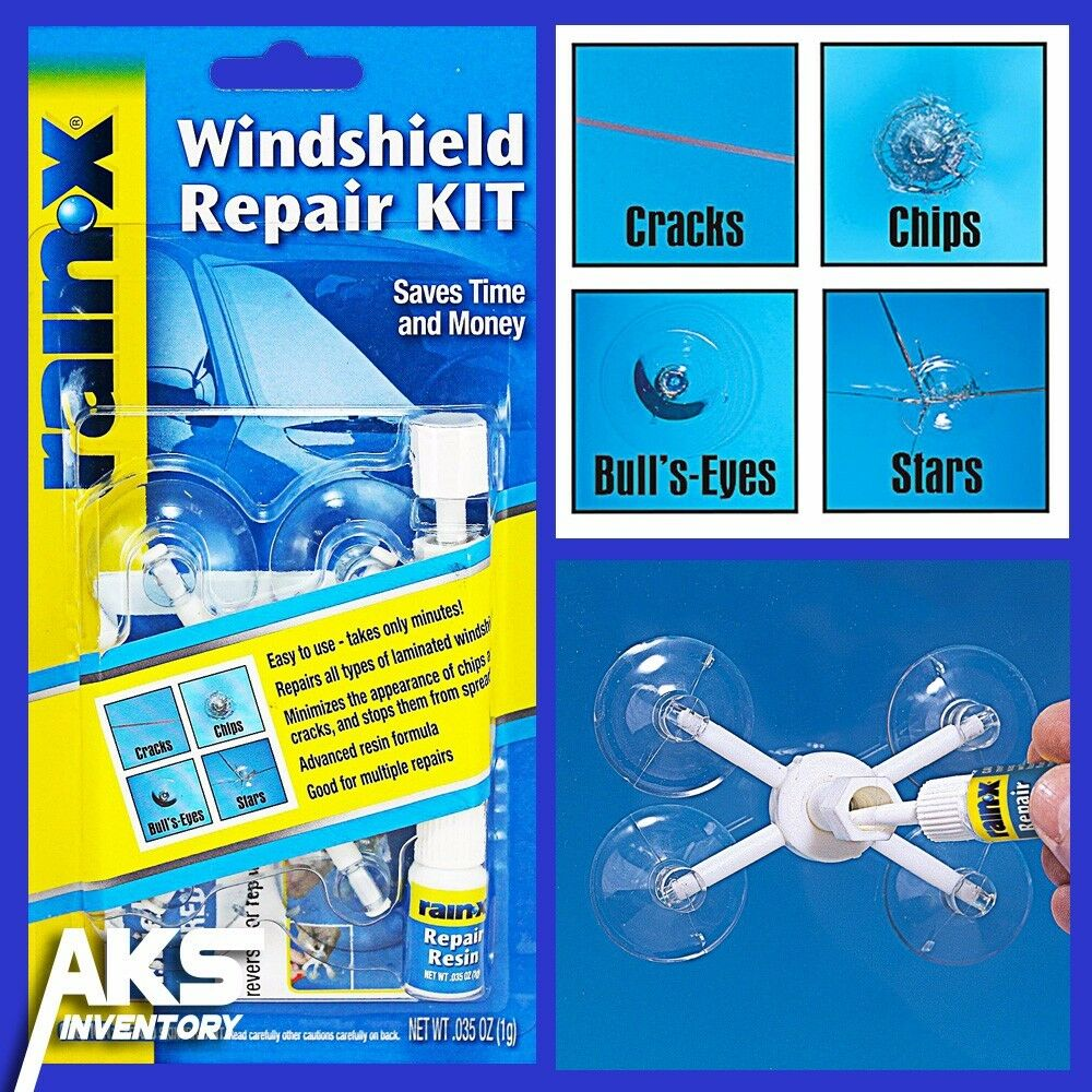 Auto Windshield Repair Kit Glass Resin Window Car Cracks