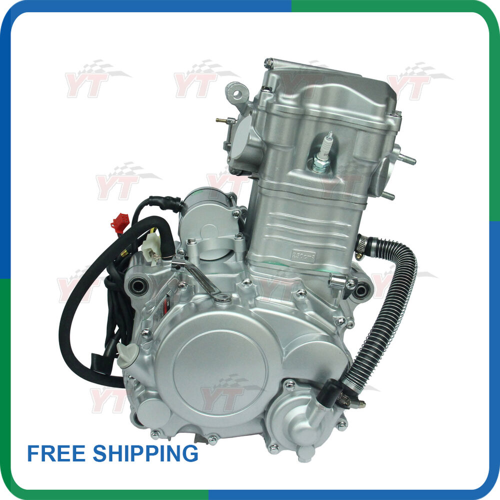 250cc Engine: 250cc Engine,Shineray 250CC Water Cooled ATV Engine With