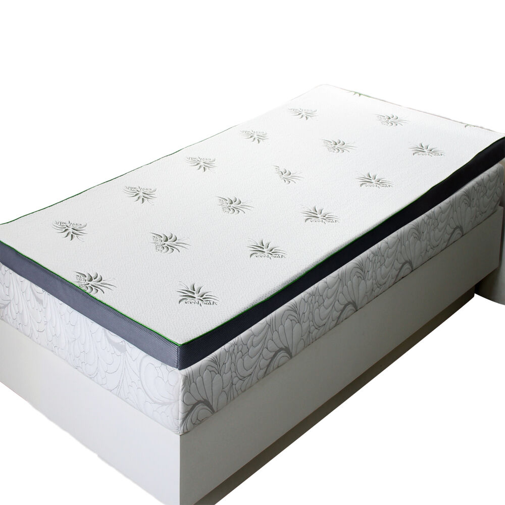 Queen Abripedic 2 5 Cool Best Gel Memory Foam Mattress Topper Hypoallergenic Ebay