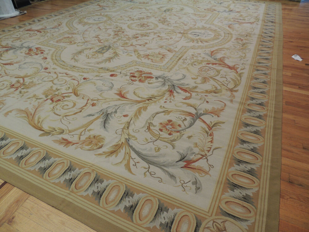 Gorgeous Oversize Palace French Aubusson Style Area Rug