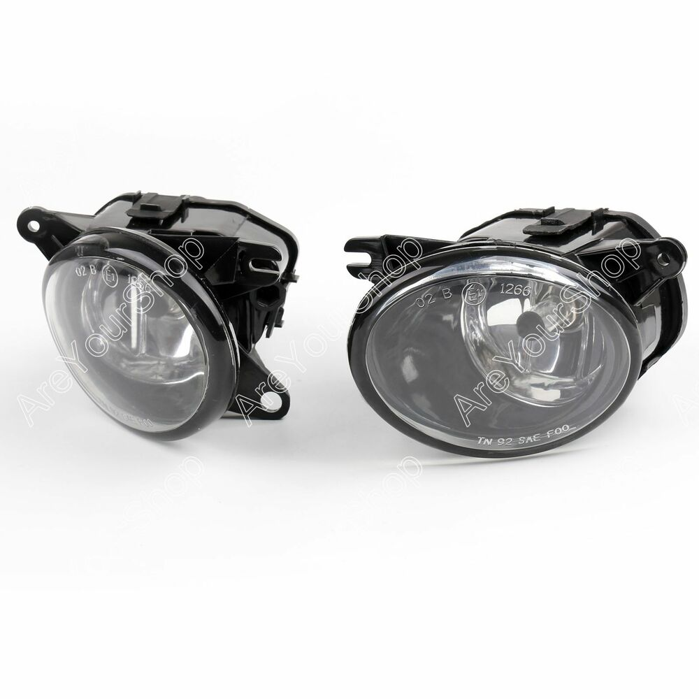 for 02 05 audi a6 c5 quattro front fog light drive bumper lamp clear h11 bulb b1 ebay. Black Bedroom Furniture Sets. Home Design Ideas