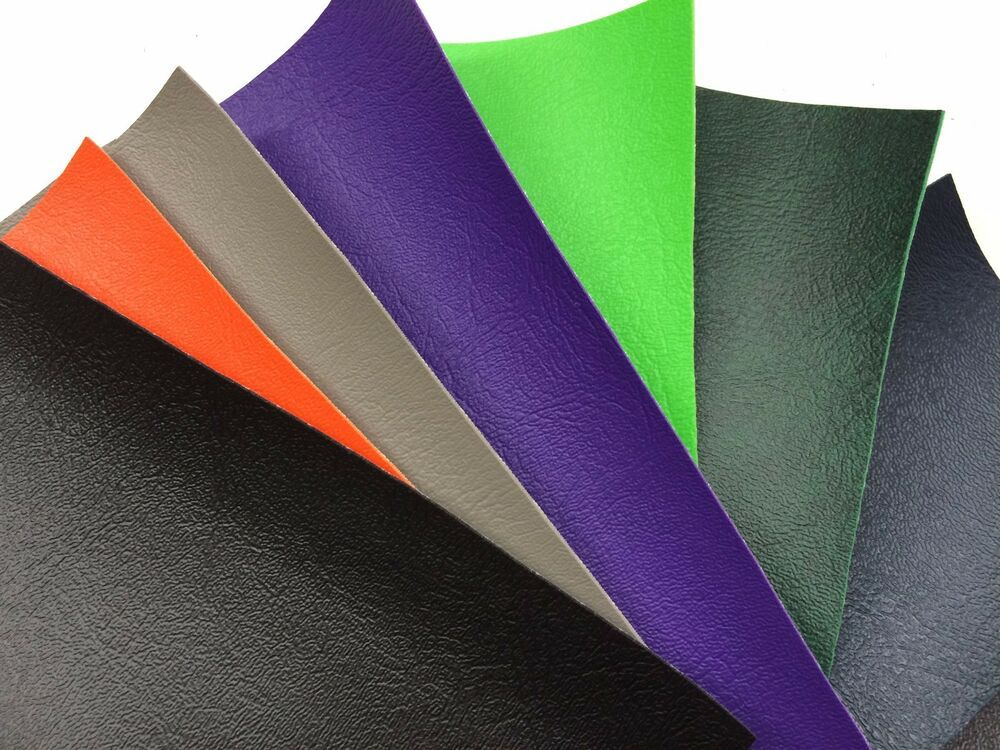Vinyl Plus Faux Leather Pleather Outdoor Indoor Fabric