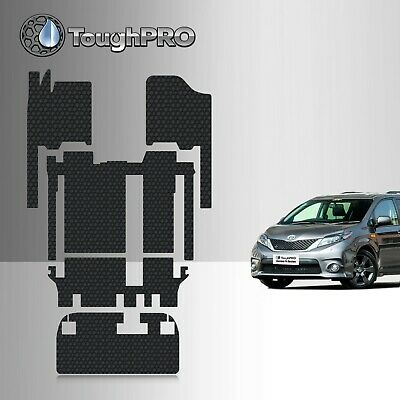 ToughPRO Heavy Duty All-Weather Floor Mats Set For 2011-2021 Toyota Sienna