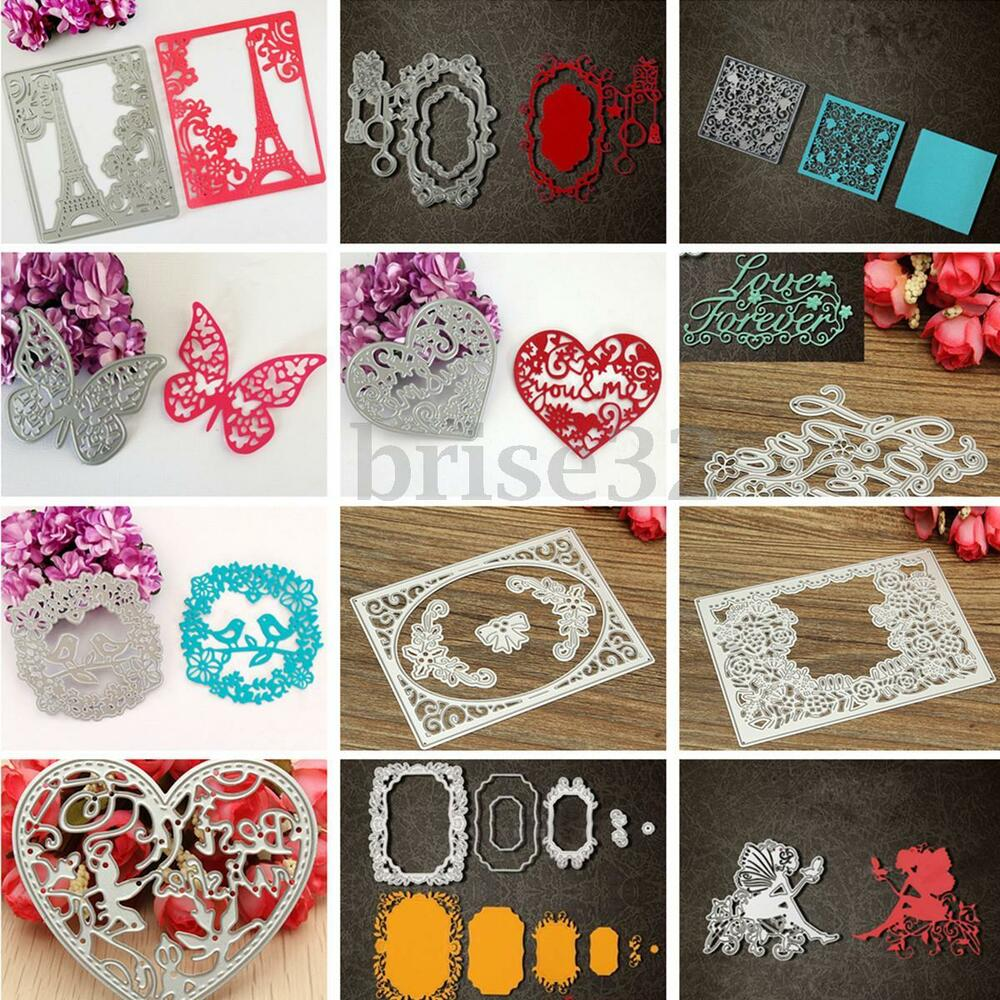 Diy cutter cutting dies stencils scrapbooking cards album for Crafts that sell on ebay