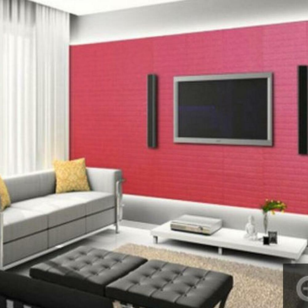 DIY 3D Brick Pattern Self-Adhesive Foam Wallpaper Panels