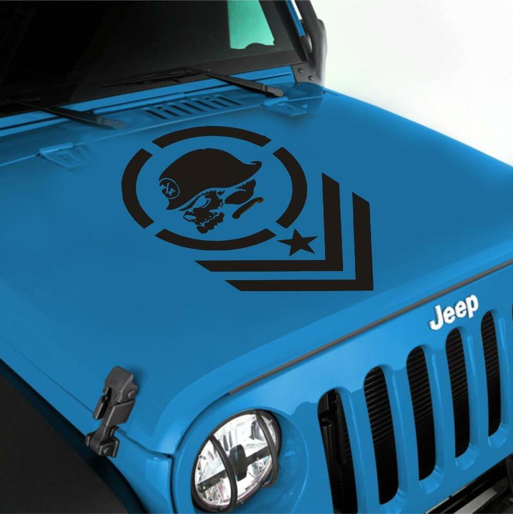 Jeep Wrangler Metal Mulisha Vinyl Hood Decal Sticker Lj Tj