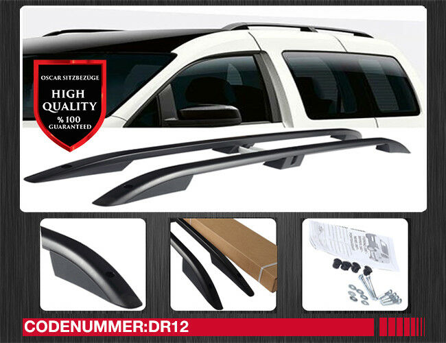 vw caddy kurz ab bj 2004 aluminium dachreling. Black Bedroom Furniture Sets. Home Design Ideas